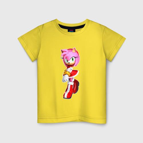 Детская футболка Эми Соник