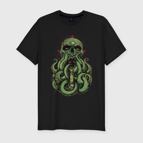 Мужская футболка премиум Ктулху