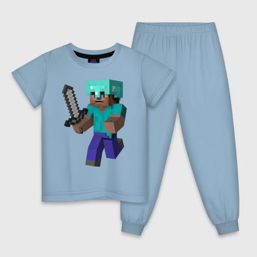 Детская пижама Майнкрафт