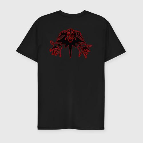 Мужская футболка премиум с принтом Король и шут (+спина)   КиШ (Z), вид сзади #1