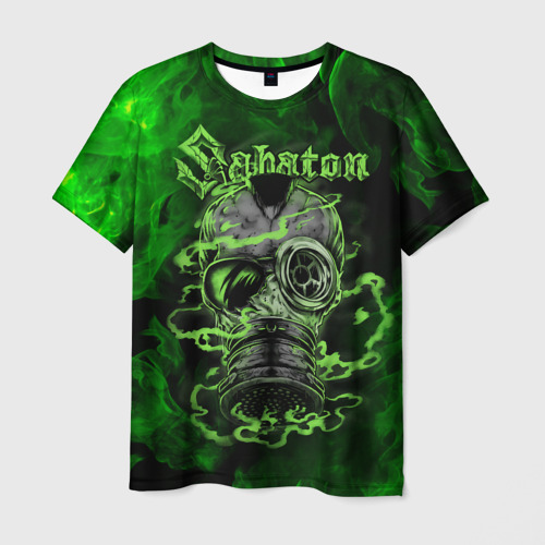 Мужская 3D футболка SABATON / САБАТОН