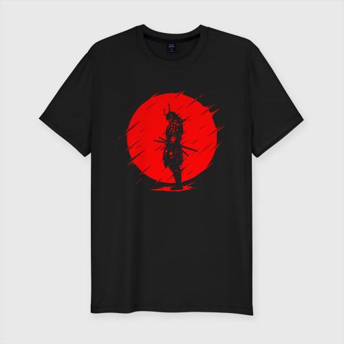 Мужская футболка премиум SAMURAI | САМУРАЙ НА СОЛНЦЕ