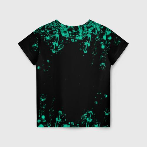 Детская 3D футболка с принтом NILETTO, вид сзади #1