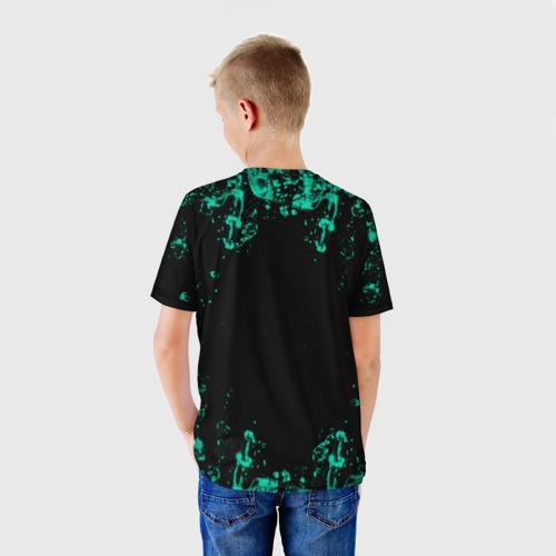 Детская 3D футболка с принтом NILETTO, вид сзади #2
