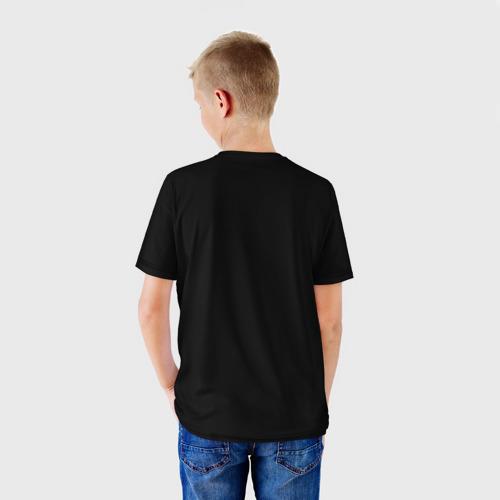 Детская 3D футболка с принтом Lamborghini Urus   Ламба Урус, вид сзади #2