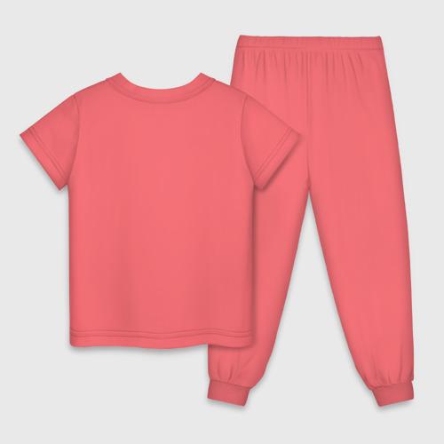 Детская пижама с принтом Фелисити Лис и Флик, вид сзади #1