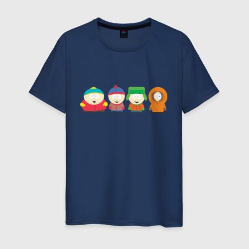 Мужская футболка с принтом SOUTH PARK, вид спереди #2