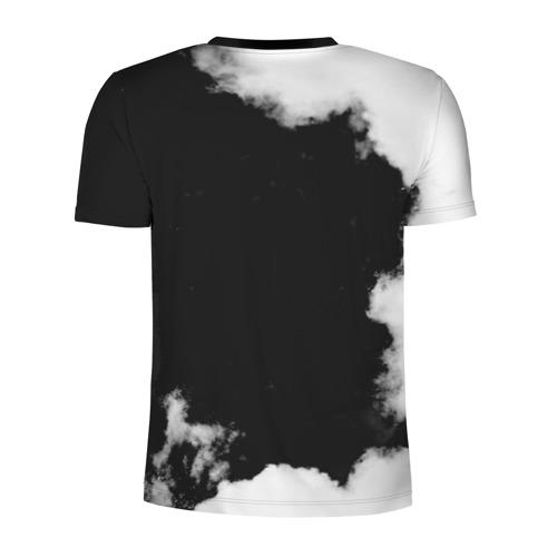 Мужская футболка 3D спортивная с принтом Южный Парк, вид сзади #1
