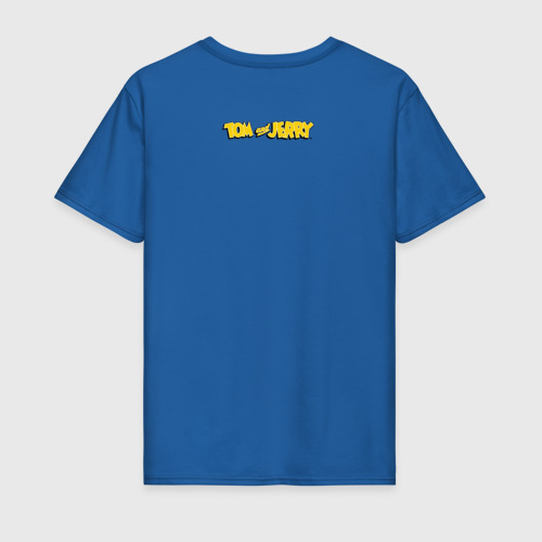 Мужская футболка с принтом Tom&Jerry, вид сзади #1