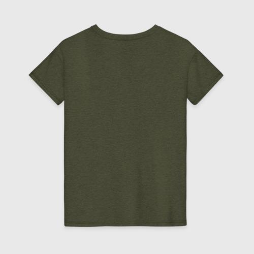 Женская футболка с принтом Jerry, вид сзади #1