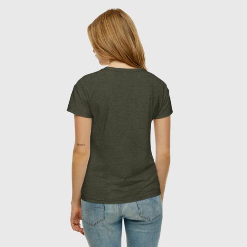 Женская футболка с принтом Jerry, вид сзади #2