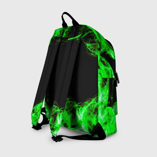 Рюкзак 3D с принтом Brawl Stars Leon Trio, вид сзади #1