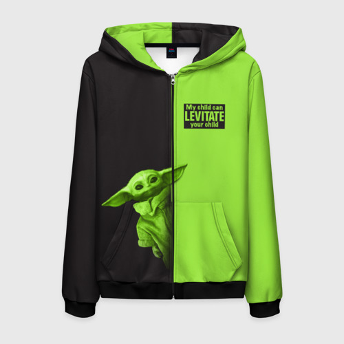 Толстовка на молнии Child Yoda