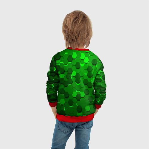 Детский 3D свитшот с принтом ЧЕРЕПАШКИ - НИНДЗЯ, вид сзади #2