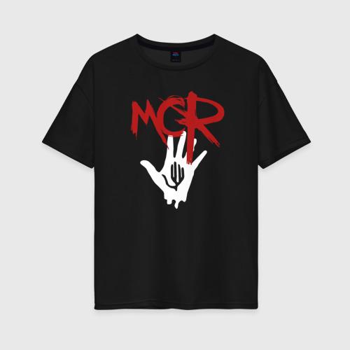 Женская футболка oversize MCR