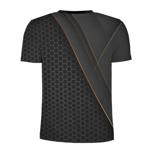 Мужская футболка 3D спортивная с принтом Liverpool FC, вид сзади #1