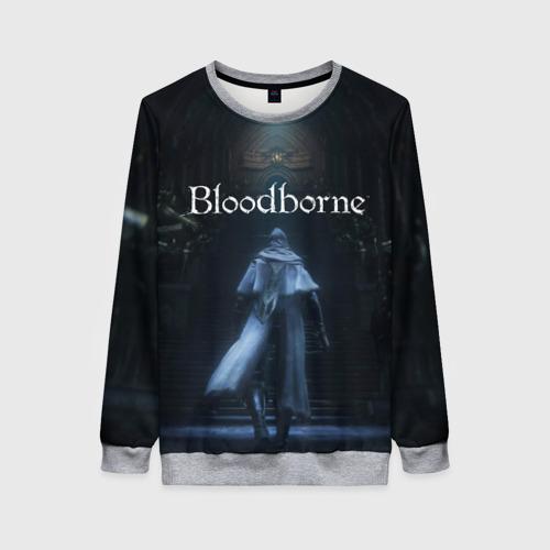Женский 3D свитшот Bloodborne