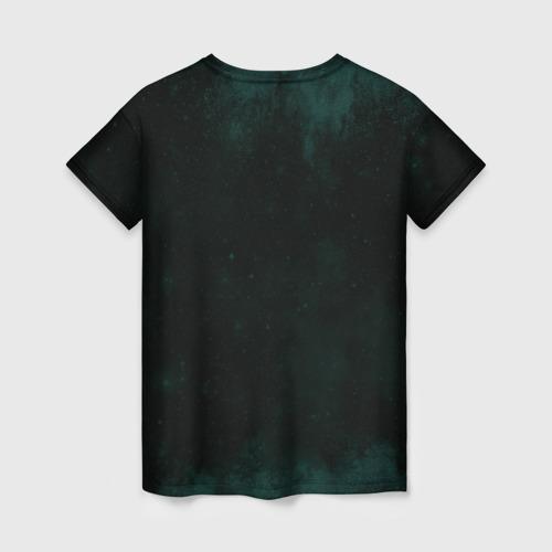 Женская 3D футболка с принтом Гарри Поттер, вид сзади #1