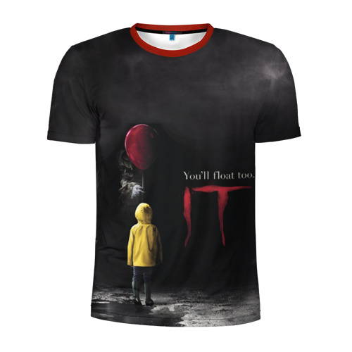 Мужская футболка 3D спортивная IT