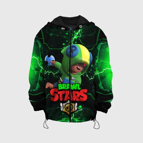 Детская 3D куртка BRAWL STARS LEON | МОЛНИИ