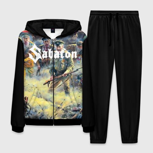 Мужской 3D костюм Sabaton
