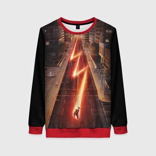 Женский 3D свитшот The Flash