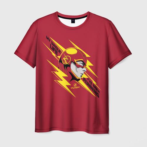 Мужская 3D футболка The Flash
