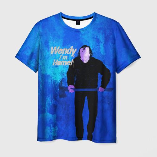 Мужская 3D футболка Wendy, I'm Home!