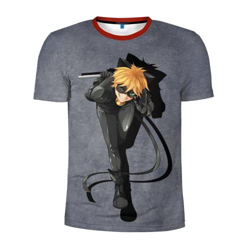 Мужская футболка 3D спортивная Adrien Agreste