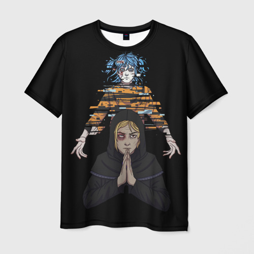 Мужская 3D футболка Sally Face