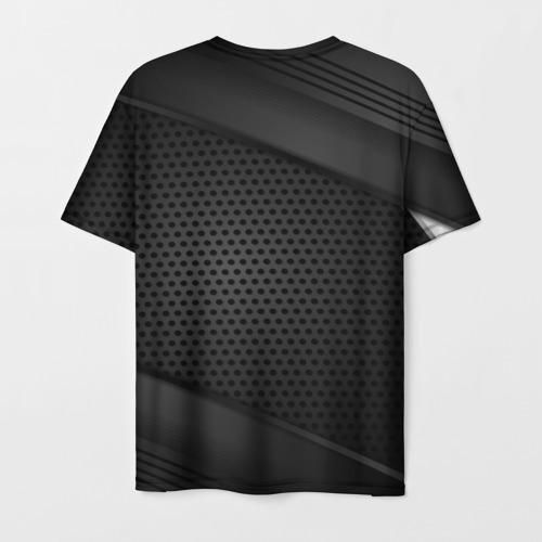 Мужская 3D футболка с принтом Assassins Creed, вид сзади #1