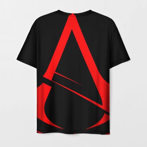 Мужская 3D футболка с принтом Assassin's Creed  [02], вид сзади #1