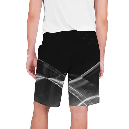 Мужские шорты 3D с принтом MERCEDES, вид сзади #1