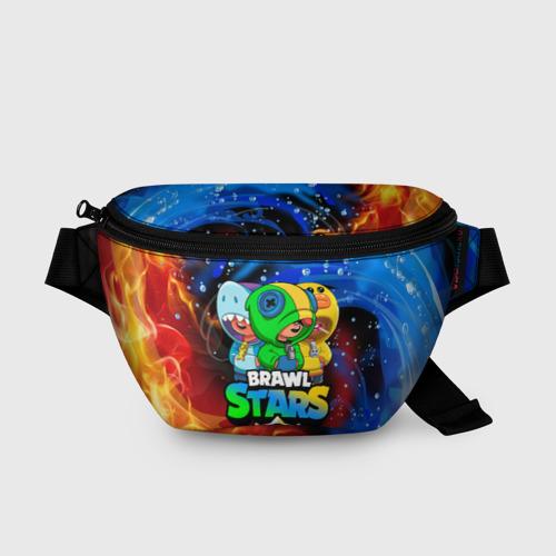 Поясная сумка 3D BRAWL STARS LEON SKINS