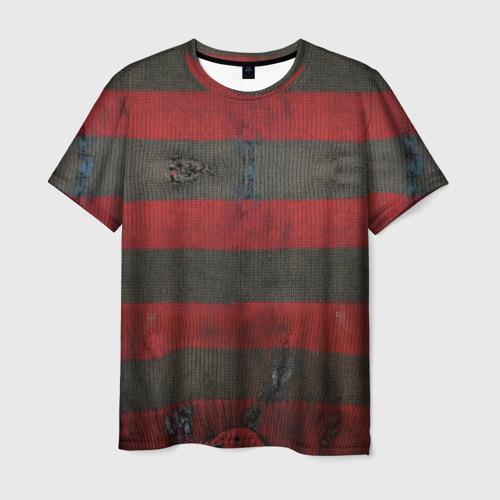 Мужская 3D футболка Freddy Krueger