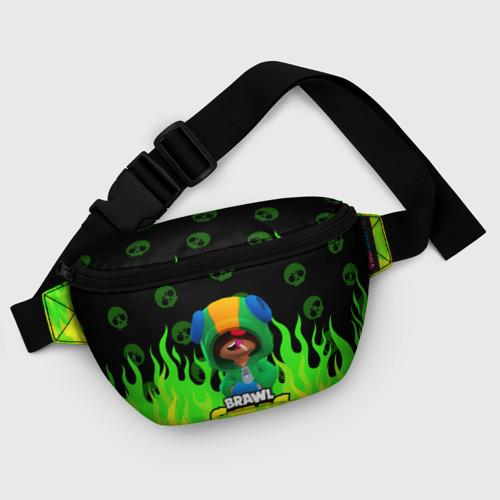 Поясная сумка 3D с принтом Brawl Stars LEON, фото #5