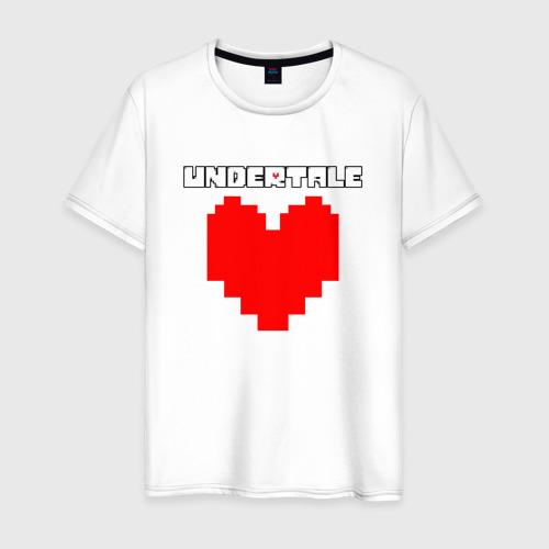 Мужская футболка UNDERTALE HEART