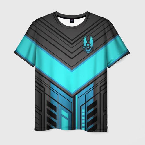 Мужская 3D футболка Halo