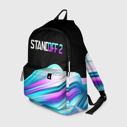 Рюкзак 3D с принтом STANDOFF 2 - RUSH, вид спереди #2