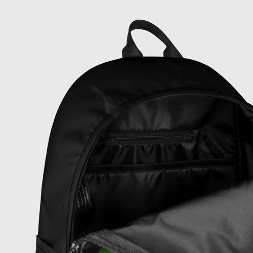 Рюкзак 3D с принтом Леон из Бравл Старс, фото #7