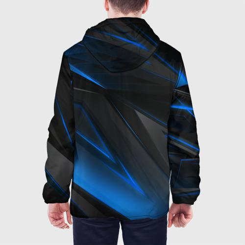 Мужская куртка 3D с принтом РОССИЯ, вид сзади #2