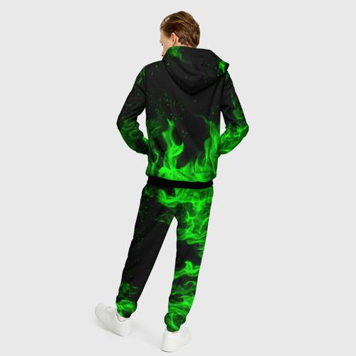 Мужской 3D костюм с принтом MONSTER ENERGY, вид сзади #2