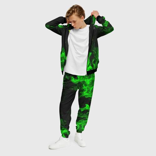 Мужской 3D костюм с принтом MONSTER ENERGY, фото на моделе #1