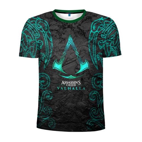 Мужская футболка 3D спортивная ASSASSIN`S CREED VALHALLA