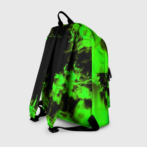 Рюкзак 3D с принтом MONSTER ENERGY, вид сзади #1