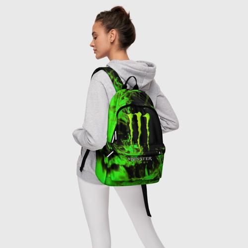 Рюкзак 3D с принтом MONSTER ENERGY, фото #4