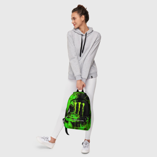 Рюкзак 3D с принтом MONSTER ENERGY, фото #6