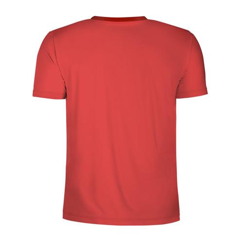 Мужская футболка 3D спортивная с принтом Карты деньги два ствола, вид сзади #1