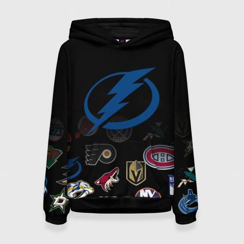 Женская 3D толстовка NHL Tampa Bay Lightning (Z)