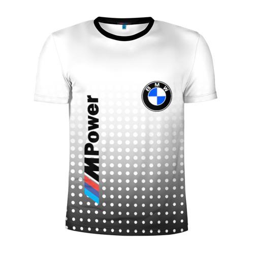 Мужская футболка 3D спортивная BMW